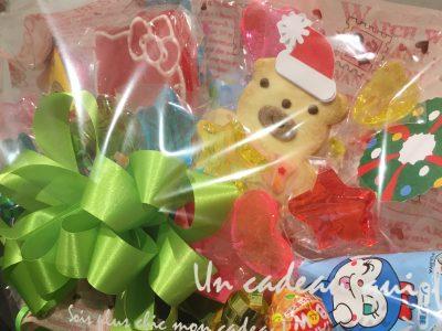 キャンディブーケ(くまさんクッキーとキティーちゃん)